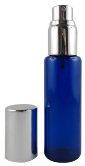 Mini-vaporisateur en verre bleu 30 ml Aroma-Zone