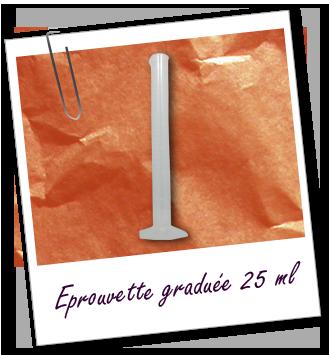 [Aroma-Zone] Eprouvette 25 ml en plastique  FT_trombone_Materiel-dosage_eprouvette-graduee-25ml