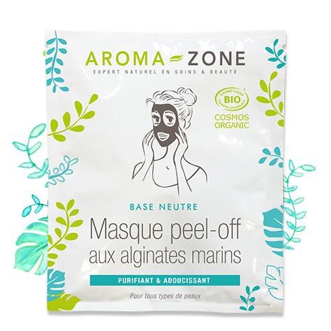 Base neutre Masque Peel-Off aux alginates marins BIO