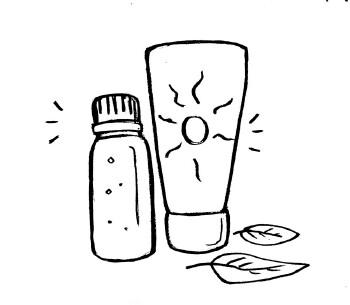Protégez votre peau du soleil qui stimule la production de sébum, obstrue les pores et favorise l'apparition de boutons, comédons et points noirs.